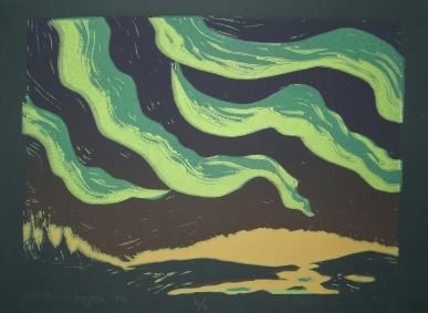 4am Lino-cut 1