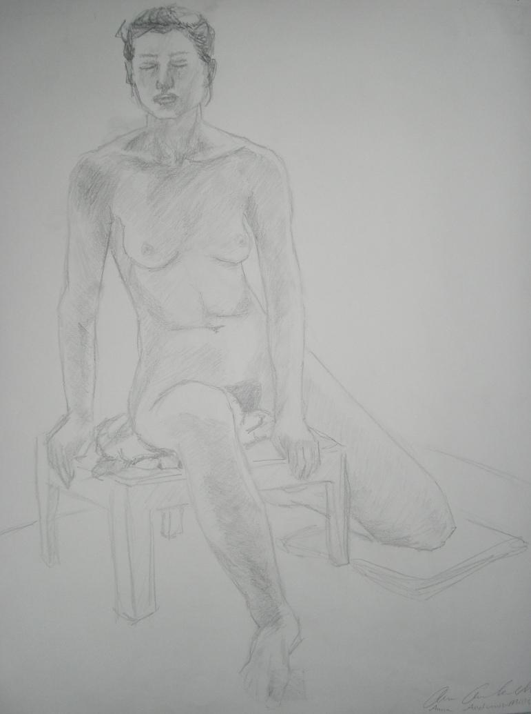4am Pencil Sketch