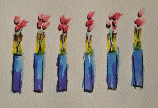 First Flower Series Piece 01