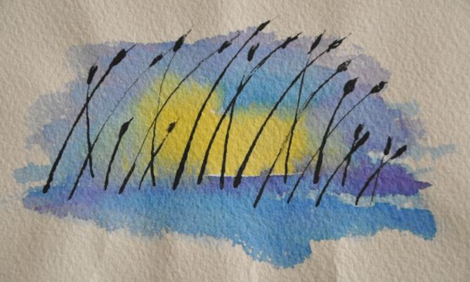ReedsWatercolor 02
