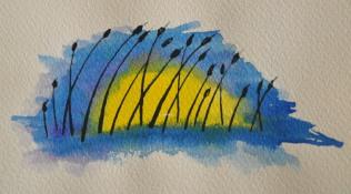ReedsWatercolor 01